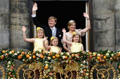 The new Royal Family of the Netherlands ~ April 30, 2013