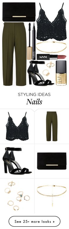 """Untitled #686"" by daimy-style on Polyvore featuring Maison Margiela, Chicnova Fashion, Yves Saint Laurent, Dune, NARS Cosmetics and Stila"