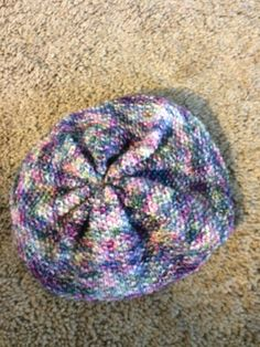 5fdd2d711db Magic sock yarn slouchy hat