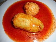 plnená paprika v paradajkovej omáčke - recept - tradičná kuchyňa - YouTube Youtube, Red Peppers, Youtubers, Youtube Movies