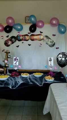 Decoración Cumpleaños Monster High