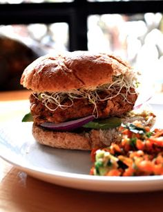 Healthy Like This: Veggie Burgers 101 and Recipe for Spicy Mexican Veggie Burger (vegan, gluten-free)