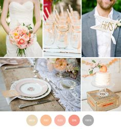 Wedding Color Inspiration Board by Renee Nicole {Design + Photography}