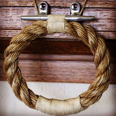 Love this dock hardware detail --------> by TheLandlockedSailor,+$85.00