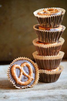Pretzel Peanut Butter Cups.... The #1 Halloween candy just got better!!!