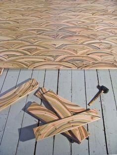 the artist Pernille Snedker Hansen gave life to his amazing Marbelous floor