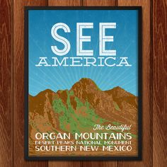 Organ Mountains-Desert Peaks National Monument by Kern Creative