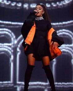 Ariana Tour, Ariana Grande Outfits, Ariana Grande Photos, Dangerous Woman Tour, Ariana Grande Wallpaper, Celebrity Wallpapers, Famous Singers, Celebs, My Style