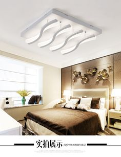 Enthusiastic Modern Led Ceiling Light For Living Dining Room Bedroom Lustres Led Chandelier Ceiling Lamp Lampara De Techo Lighting Fixtures Refreshing And Beneficial To The Eyes Lights & Lighting