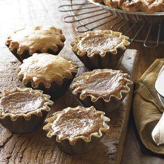 Pumpkin & Apple Mini Pies, Set of 12