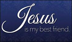 'Jesus Is My Best Friend' eCard from Crossroads