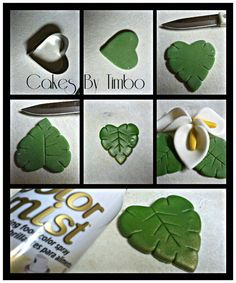 Tutorial para realizar hojas en forma de corazón en arcilla polimérica / polymer clay