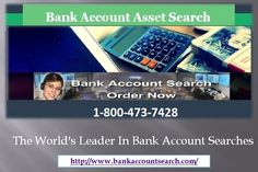Professional Bank Account Search By Social Security Number for Legal Requirements Fred Joseph People may hide their assets, but there are several ways in which it can be located by professionals for legal requirements. Often such people are found on the wrong side of the law, and it is required to know about their assets to bring them to justice. Professional searching companies can condu... (more) 35 views · Written Mar 27 Reasons for Bank Account Asset Search of Individuals
