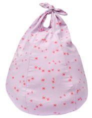 Handkerchief Bean Bag Stars Pink