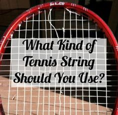 All of your #tennis string questions are finally answered! In the Tennis Quick Tips podcast - Episode 13 via TennisFixation.com
