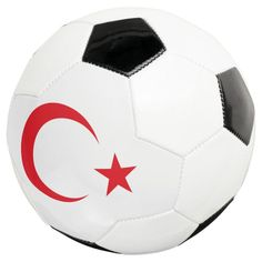 turkey emblem soccer ball - tap/click to personalize and buy #soccerball #turkey, #istanbul, #ankara, #turkish, #star, Ottoman Flag, Old Fashioned Games, Family Fun Night, Soccer Gifts, Permanent Marker, Soccer Ball, Kids Learning, Hand Stitching, Turkey