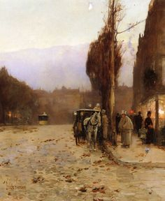 Paris at Twilight