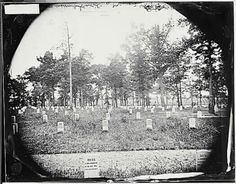 Arlington Cemetery Photos(About 1865) From The National Archives