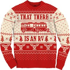"National Lampoons Christmas Vacation Cousin Eddie RV Ugly Christmas Sweater ""now dont go falling in love with it clark"" Tacky Christmas, Merry Little Christmas, Ugly Christmas Sweater, Christmas Holidays, Christmas Clothes, Christmas Ideas, Christmas Shirts, Christmas Budget, Christmas Classics"