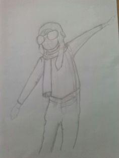 2 boceto dibujo