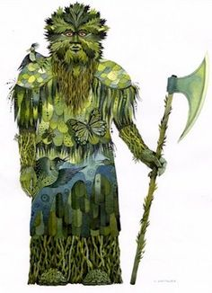 Green Knight, Smokey The Bears, English Story, Middle English, Green Man, 14th Century, Sculptures, Fantasy, Drawings