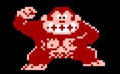 8 bit Donkey Kong video games - Google Search