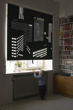 Better view -roller blind by Elina Aalto