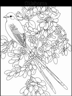 State Emblems Coloring Pages