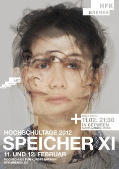 Gute Plakate :: Hochschultage der Hochschule für Künste Bremen 2012   www.guteplakate.de