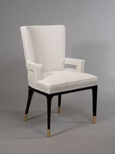 of Armchairs attributed to Tommi Parzinger Pair of Armchairs attributed to Tommi Parzinger image of Armchairs attributed to Tommi Parzinger image 3