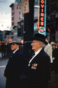 Remembrance Day, 1958 by Fred Herzog