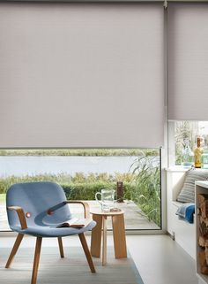 Enjoy the ease and simplicity of one of our award winning roller blinds. A Luxaflex roller blind gives you endless fabric choices from sheers to opaque's, or pretty floral patterns for the living room to solid colours for a children's room.