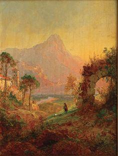 Jasper Francis Cropsey - 1877 Villa d-Este, Trivoli