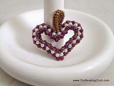 Pattern bijoux: My Sweet Heart Pendant