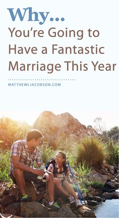 Enjoying an excellent marriage isn't based on luck. It's the result of commitment and effort. Every couple with a great marriage makes their marriage a priority. If that describes you and you apply these principles, you'll enjoy an excellent marriage this year, too! MatthewLJacobson.com