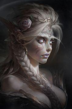ArtStation - White Priestess, Dmitry Prozorov