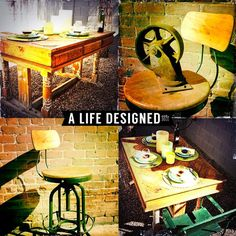 Rough Luxe/Industrial finds @ A Life Designed www.randysloan.com