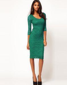Emerald Green Bridesmaids Dress from ASOS