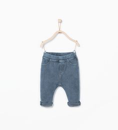 Image 1 of Denim jeggings from Zara