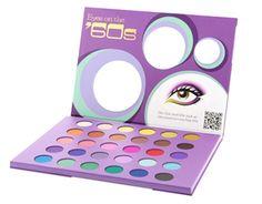 Fun Fierce Fabulous Beauty Over 50!: Beauty ~ Eyes On The '60s Eyeshadow Palette by bh Cosmetics