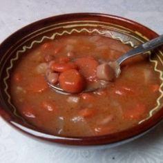 bableves receptek   NOSALTY Beans, Vegetables, Food, Beans Recipes, Veggies, Veggie Food, Meals, Vegetable Recipes, Yemek
