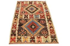 Hand Woven Antique Turkish Kilim Rug  with DHL. $1,500.00, via Etsy.