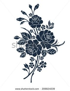 Floral Motif Stock Photos, Images, & Pictures   Shutterstock