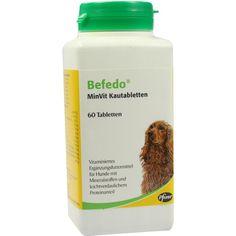 BEFEDO MinVit Kautabletten für Hunde:   Packungsinhalt: 60 St Kautabletten PZN: 01896406 Hersteller: Zoetis Deutschland GmbH Preis: 10,28…