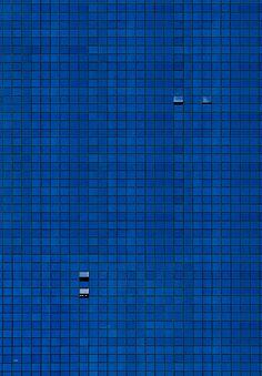 Blue Wall by Niv Rozenberg