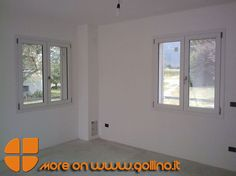 Installazione #Finestre in #PVC in casa privata in fase di #ristrutturazione http://www.gollino.it