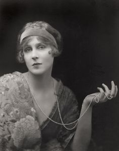 Lady Diana Cooper taken by E.O. Hoppé , 1916