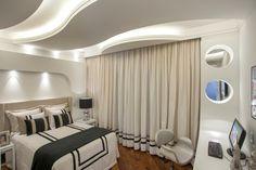 Casa contemporânea com linhas curvas - veja detalhes da fachada e dos ambientes internos! - Decor Salteado - Blog de Decoração e Arquitetura