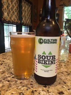Evil Twin Sour Bikini. Imagine a lemon warhead candy with a bit hops added. Outstanding Sour ale.