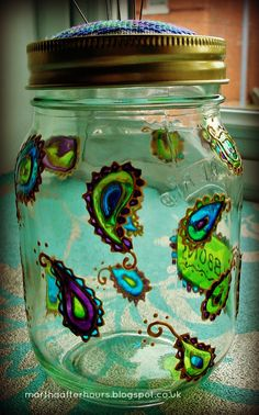 After Hours...: glass painting